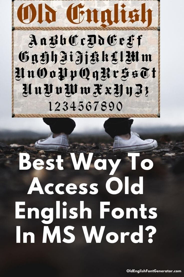 Free Old English Fonts For Microsoft Word